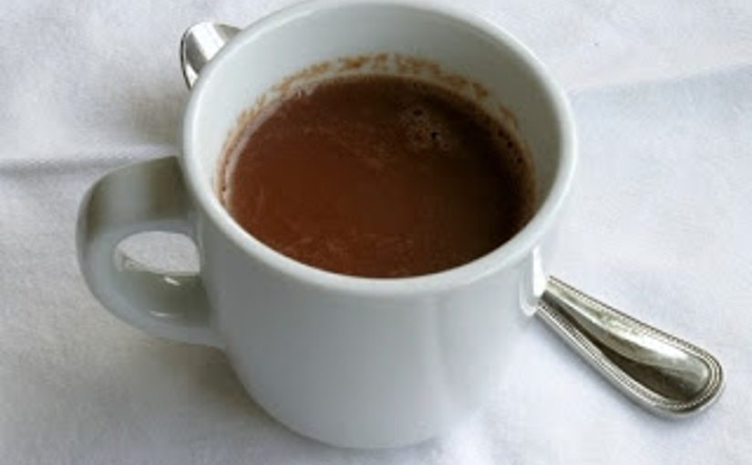 Chocolate quente da Gabi
