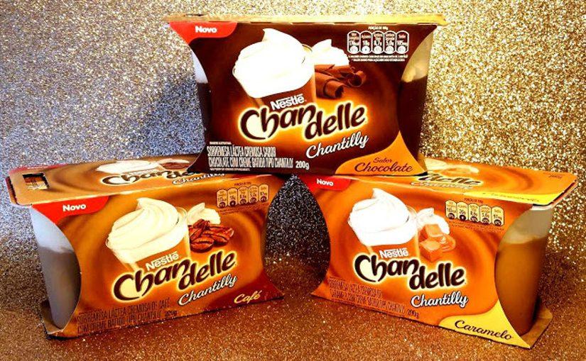 Novo Chandelle Chantilly de Chocolate, Caramelo e Café!