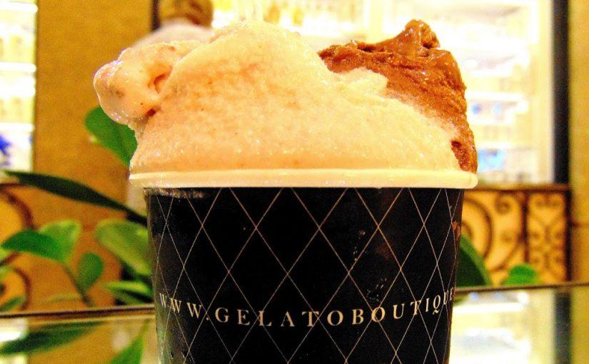 Gelato Boutique + A Loja do Chá: gelatos feitos com chás orgânicos!