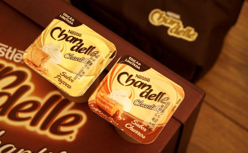 Novo Chandelle Chantilly sabor churros e paçoca