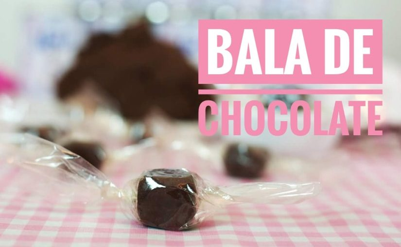 Bala de Chocolate
