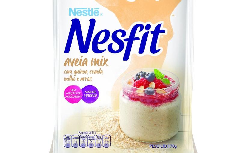 Arrasou, Mingau: Nesfit lança nova fórmula de aveia para mingau instantâneo