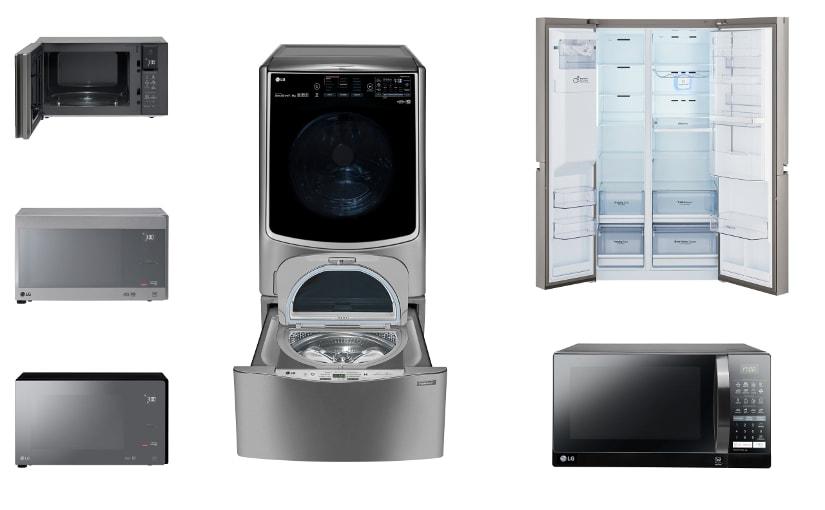 LG inova com lançamentos de produtos para a linha branca