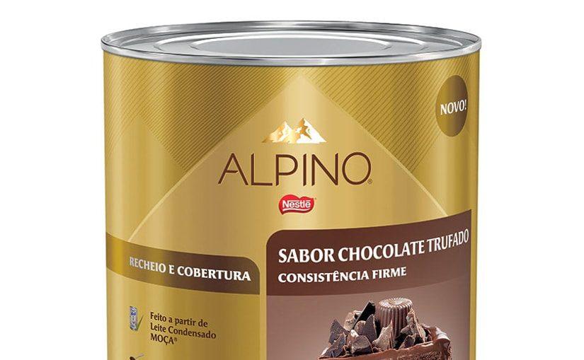 Nestlé Professional lança produtos com chocolate Alpino