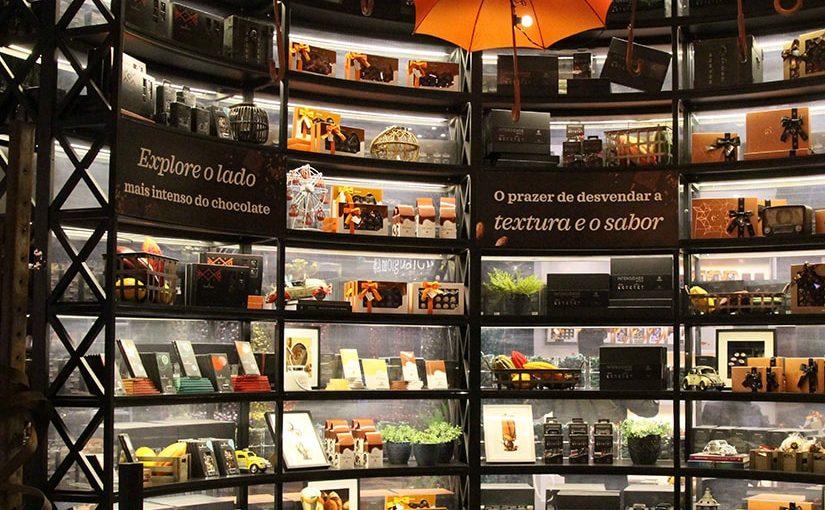 Cacau Show inaugura a maior loja de shopping da América Latina de chocolates finos