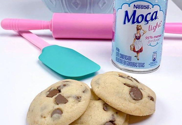 Cookies com leite condensado